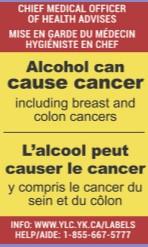 Etiketten op flessen drank vergroten het bewustzijn