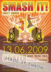 Flyer disco la paix