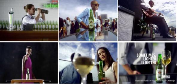 Heineken pulls 'Lighter Is Better' ad after rapper called it racist