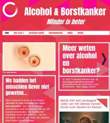 Website alcohol en borstkanker